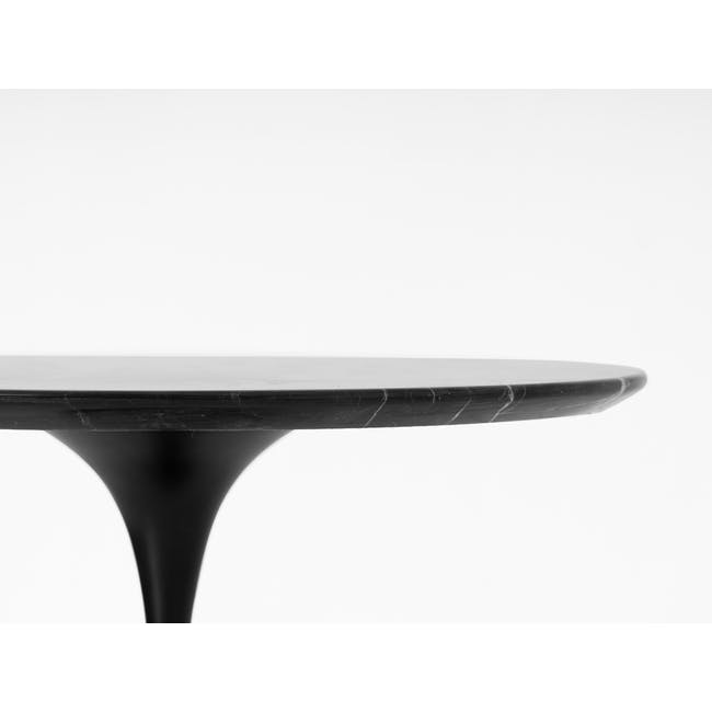 Mistra Marble Side Table - Black - 3
