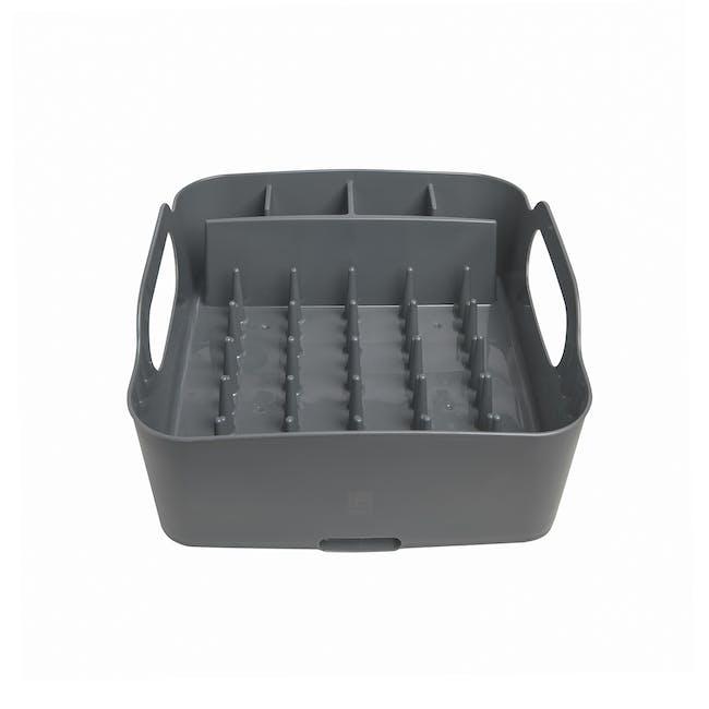 Tub Dish Rack - Charcoal - 2