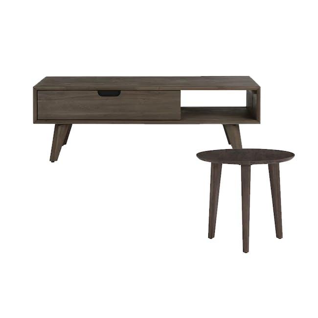 Tilda Single Drawer Coffee Table with Tilda High Side Table - 0