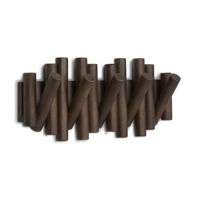 Picket Wall Hook - Walnut - 3