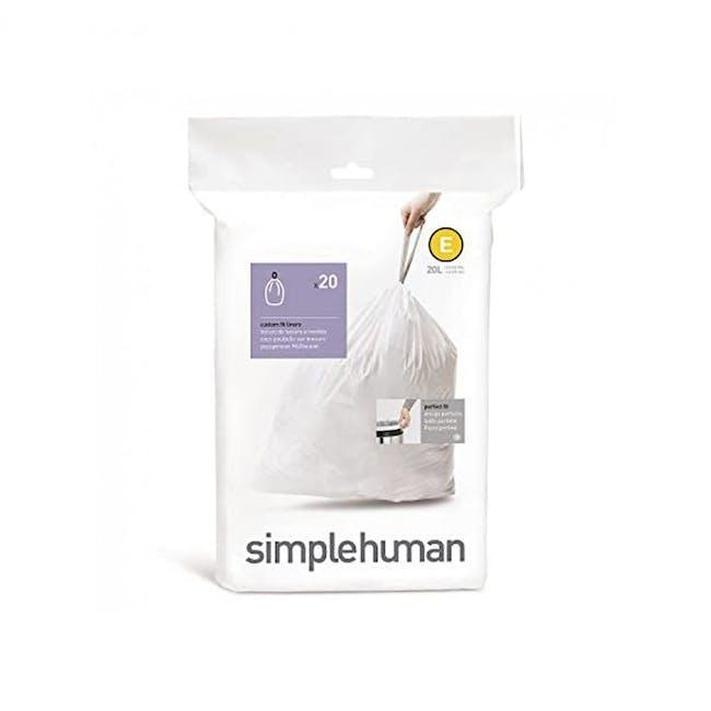 simplehuman Pefect Fit Liner 20L - E - 0
