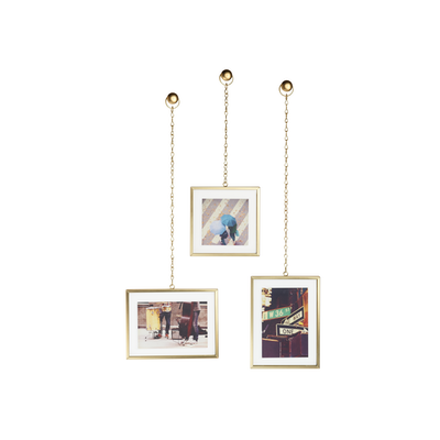 Fotochain Photo Display - Matte Brass