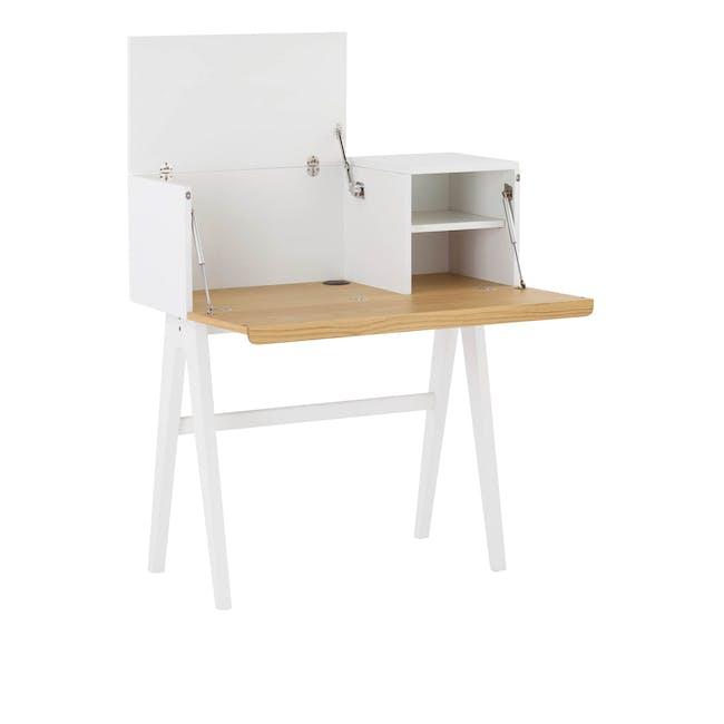 Valen Study Table - White - 3