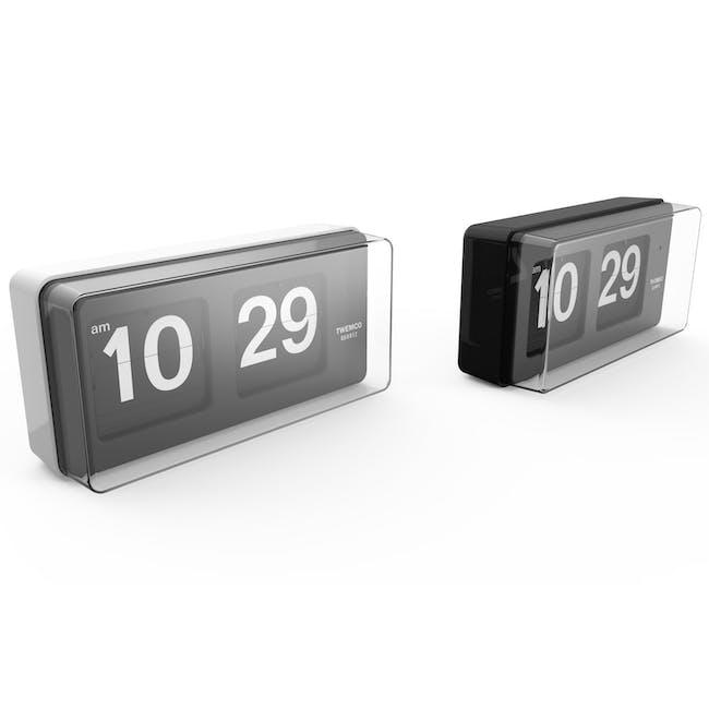 TWEMCO Big Wall/Table Clock - White - 3