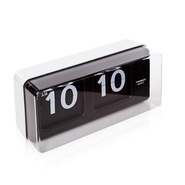 TWEMCO Big Wall/Table Clock - White - 4
