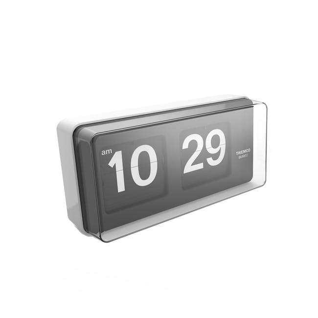 TWEMCO Big Wall/Table Clock - White - 0
