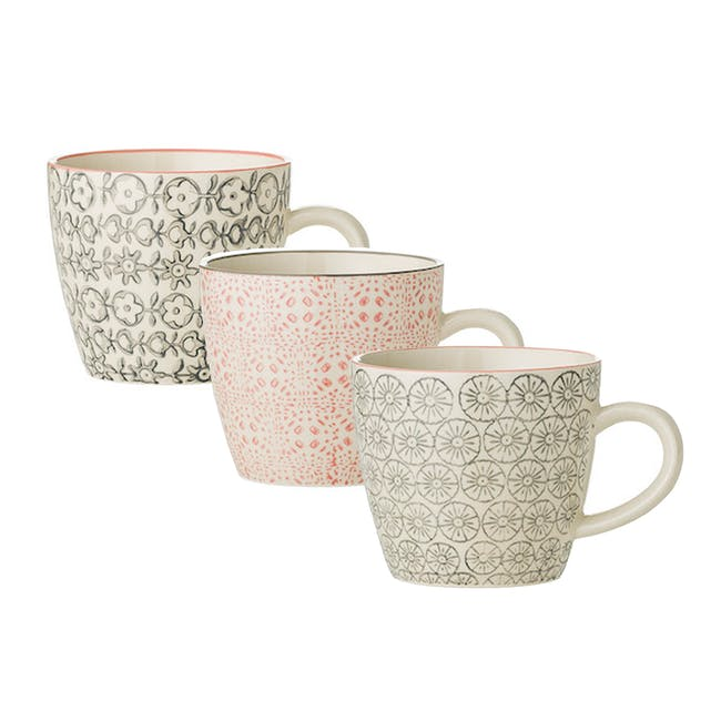 Myra Ceramic Mug (Set of 3) - 0