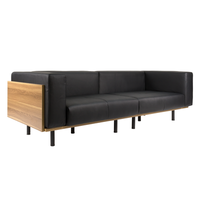 Harvey 3 Seater Sofa - Faux Leather