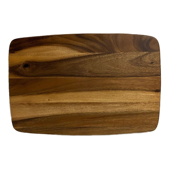Acacia Wood Extra Large Meat Carving Cutting Board / Charcuterie Prep and Serving Board - 1