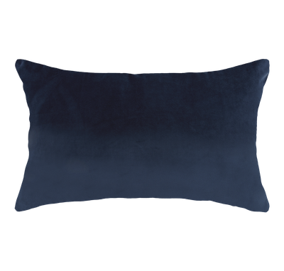 Alyssa Velvet Lumbar Cushion - Ultramarine - Image 1