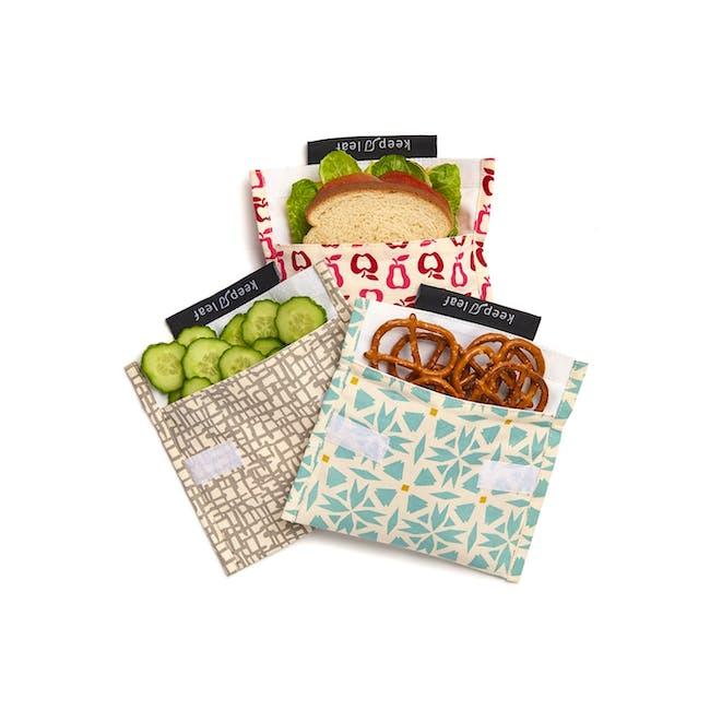 Reusable Snack Bag - Geo (Size L) - 1