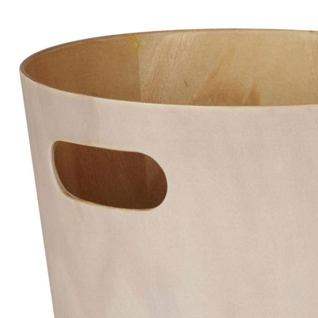 Woodrow Can - White, Natural - 1