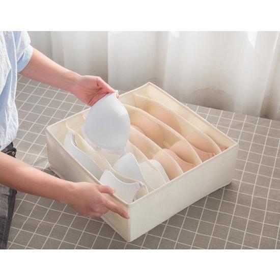 1688 - Cindy Wardrobe Storage Case - Cream