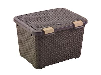 Style Box 43L - Dark Brown - Image 1