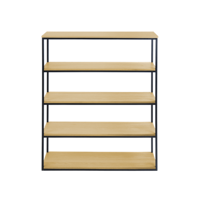 Brittany 5-Tier Shelf - Oak - Image 1