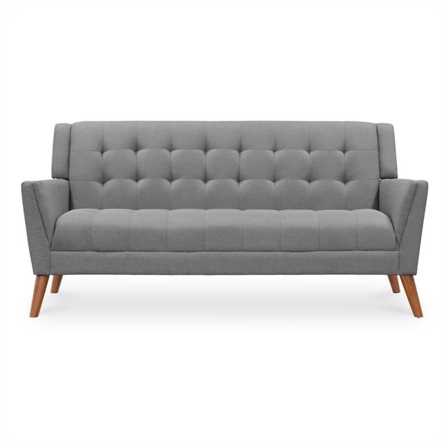 Stanley 3 Seater Sofa - Siberian Grey - 0