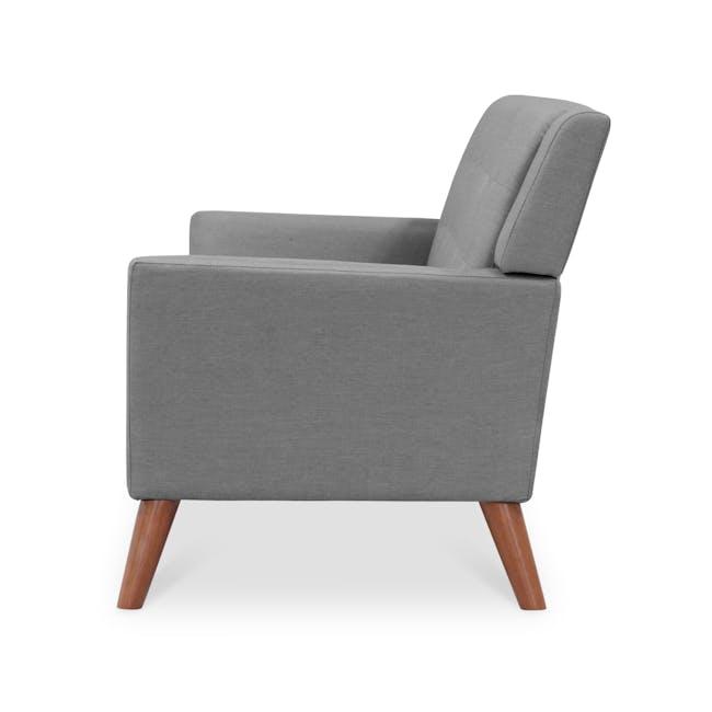 Stanley 3 Seater Sofa - Siberian Grey - 3