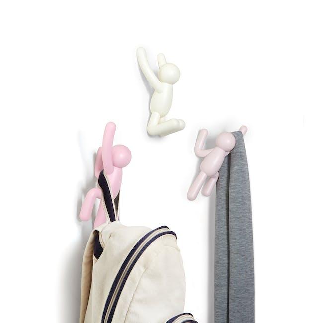 Buddy Wall Hook - Pink (Set of 3) - 1