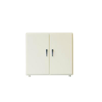 Pico Retro Pop 2 Door Storage Cabinet - Ivory