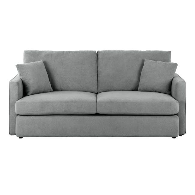 Ashley 3 Seater Lounge Sofa - Stone - 0