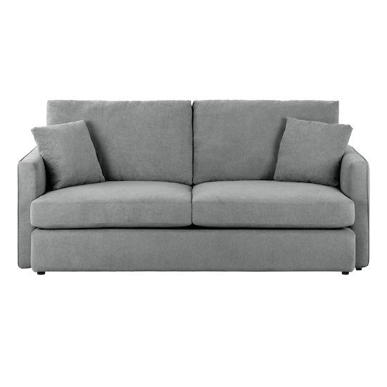 Only Zest Oem Ashley 3 Seater Sofa Grey
