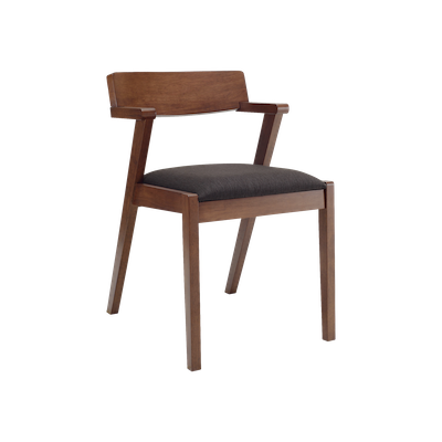 Imogen Dining Chair - Cocoa, Mud - Image 1