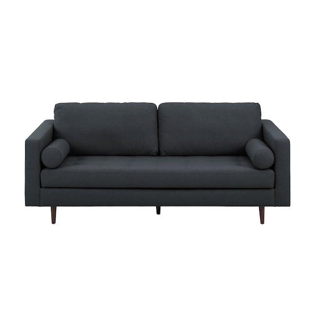 Nolan 3 Seater Sofa - Carbon (Fabric) - 0
