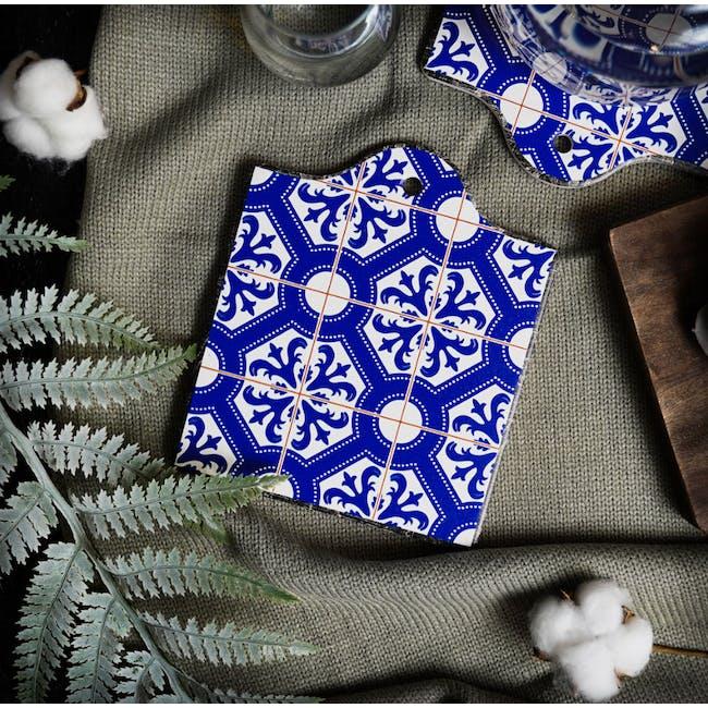 Peranakan Ceramic Pot Coaster - Kairi - 1