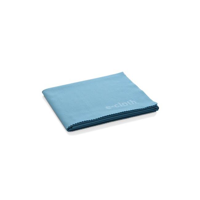 e-cloth Glass and Polishing Eco Cleaning Cloth - Alaskan Blue - 0