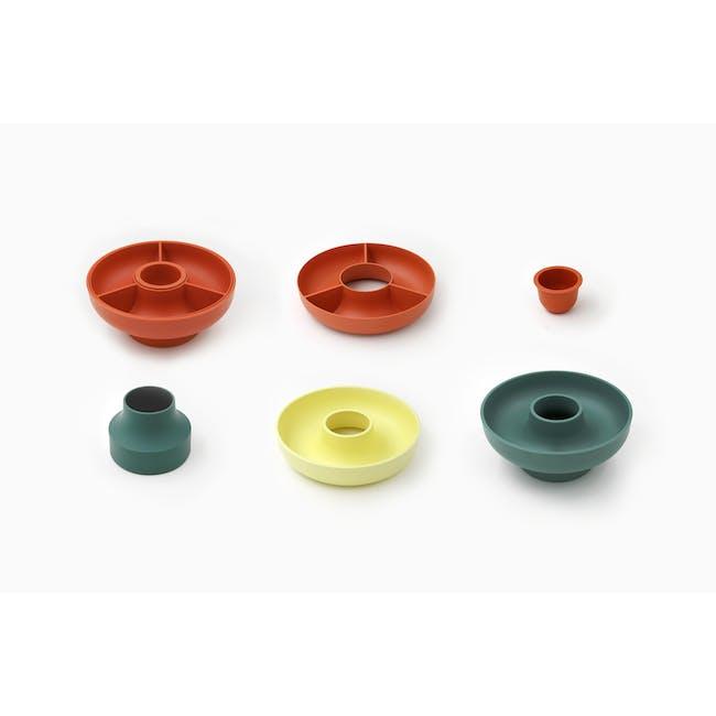OMMO Hoop Serving Bowl - Olive - 1