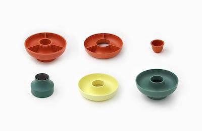 Hoop 2 Serving Bowl - Olive - Image 2