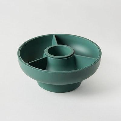 Hoop 2 Serving Bowl - Olive - Image 1
