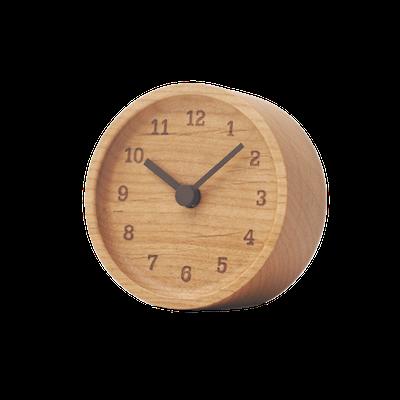MUKU Table Clock - Alder - Image 1