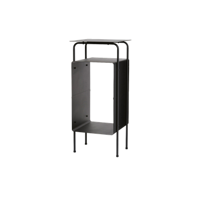 Archer Side Table - Matt Black - Image 1