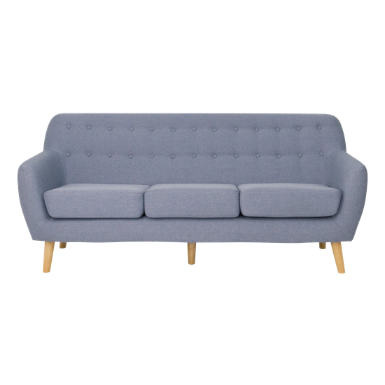 Blue 3 Seater sofa