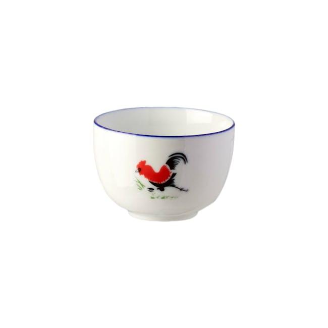 Rooster 4 oz. Tea Cup (Set of 6) - 0