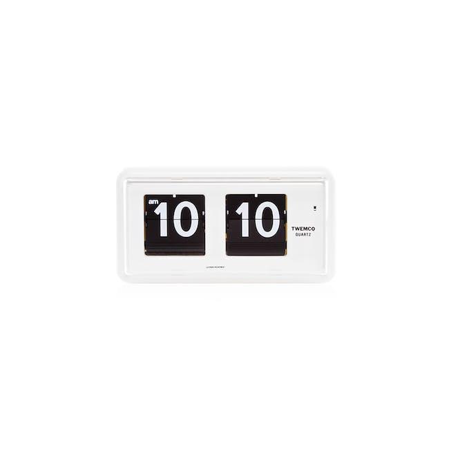 TWEMCO Table Clock - White - 0