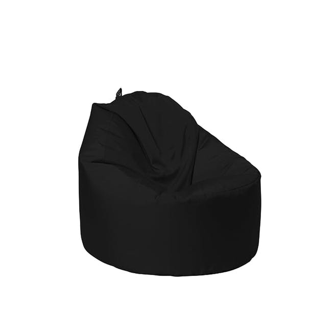 Oomph Mini Spill-Proof Bean Bag - Jet Black - 0