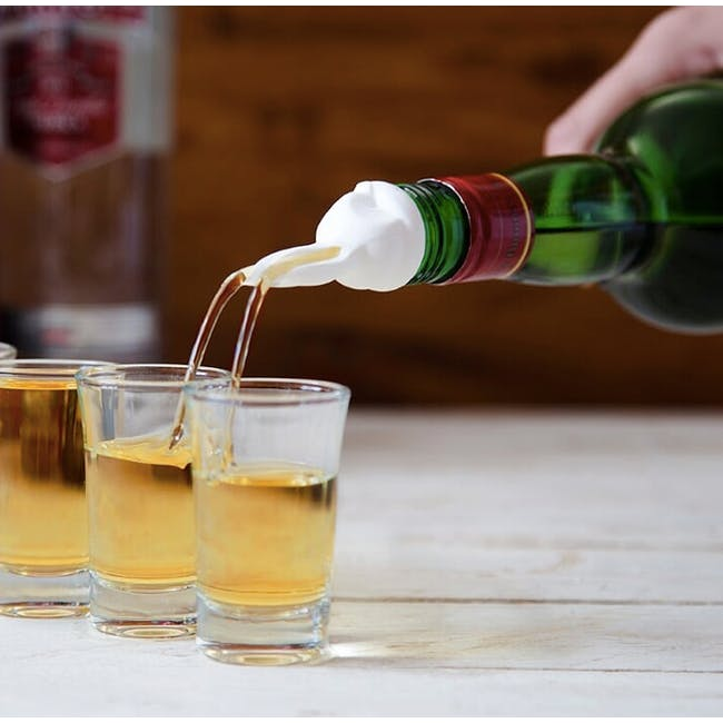 PELEG DESIGN Barney Wine Pourer and Stopper Set - 2
