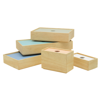 Earnest Box Trays (Set of 5) - Assorted - Image 2