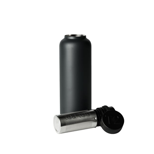 T2 Stainless Steel Flask - Black - 0