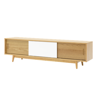 Emelie TV Console 1.6m - Natural - Image 2