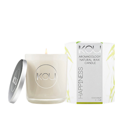 HAPPINESS Candle - Coconut & Lime - Image 2