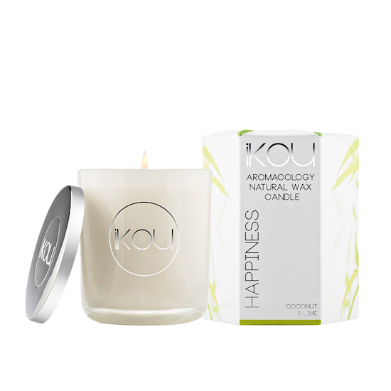 iKOU - HAPPINESS Candle - Coconut & Lime