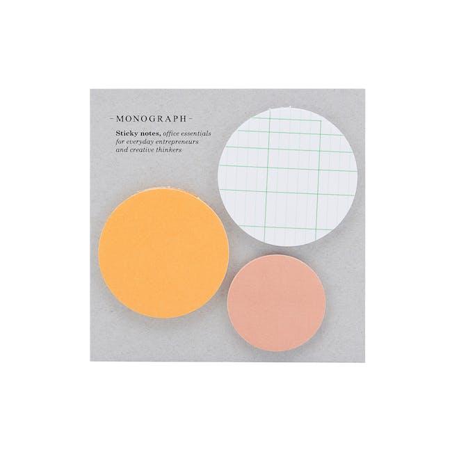 Round Sticky Notes (Set of 3) - 0