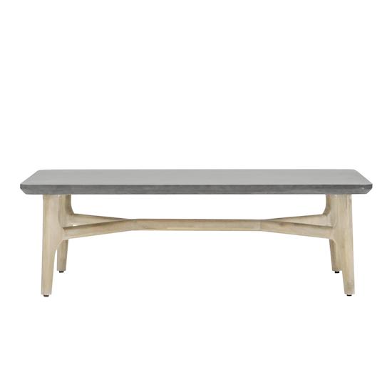 HipVan Bundles - Hendrix Rectangular Coffee Table with Hendrix Side Table Set of 2