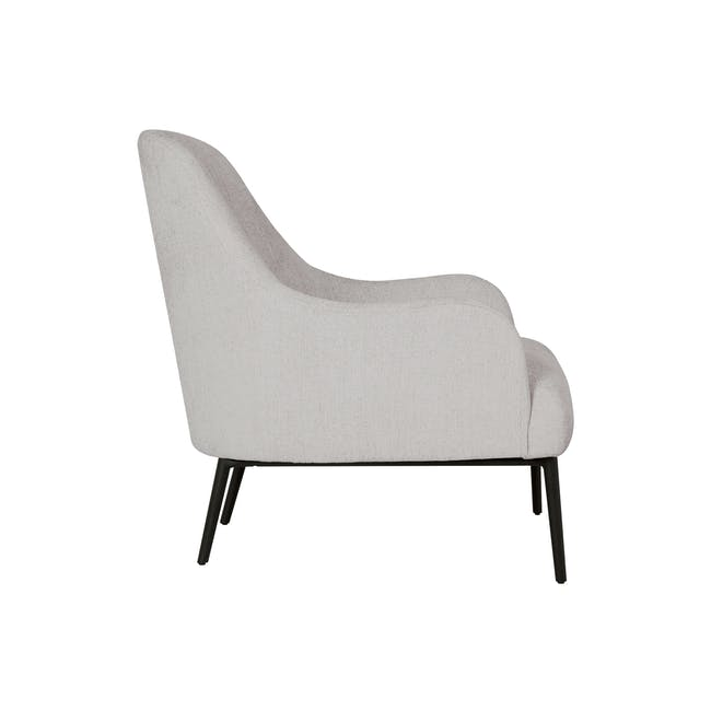 Bristol Lounge Chair - Ghost White (Fabric) - 2