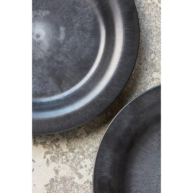 Serveur Side Plate - Black (Set of 4) - 2