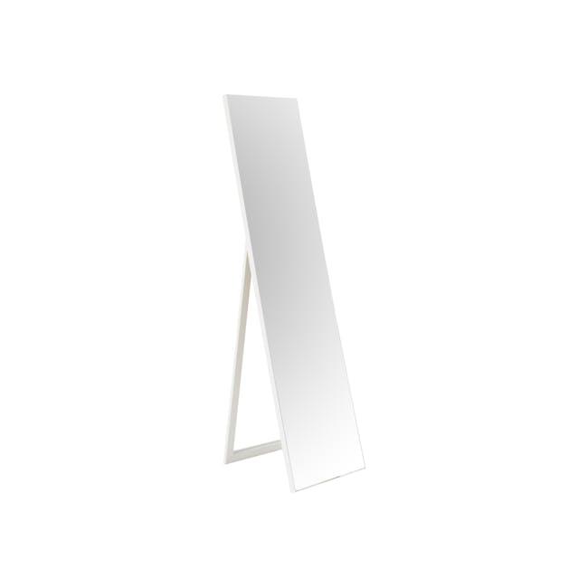 Zoey Standing Mirror 30 x 150 cm - White - 0