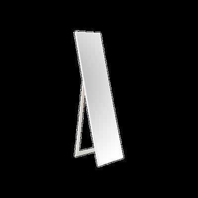 Basic Standing & Wall Mirror - White